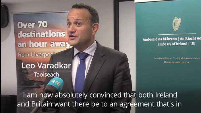 Varadkar says he can 'see pathway' to Brexit deal after talks with Boris Johnson