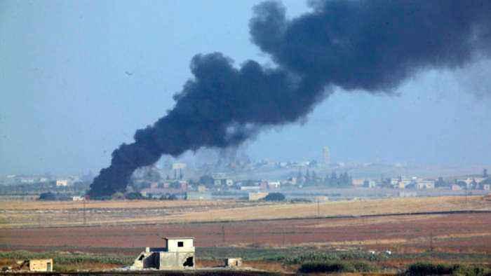 Heavy fighting as Turkey steps up push against Kurdish forces