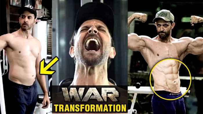 Hrithik Roshan SHOCKING Fat To Fit TRANSFORMATION For WAR Movie | Tiger VS Hrithik