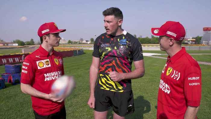Seb & Charles Episode 3 - Formula 1 meets Rugby