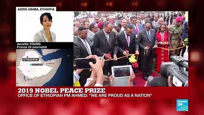 Ethiopia reacts to Prime Minister Abiy Ahmed's Nobel Peace Prize