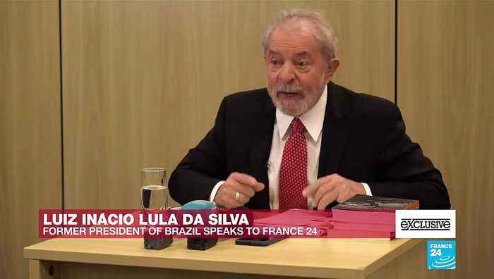#EXCLUSIVE - Lula da Silva on FRANCE24: 'I don't want a lighter sentence. I want my innocence'