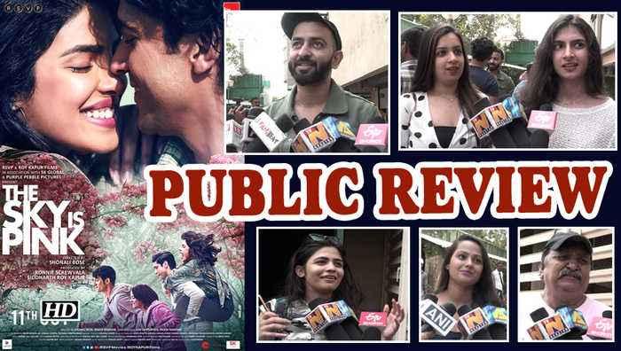 Public Review | The Sky Is Pink | Priyanka Chopra Jonas, Farhan Akhtar