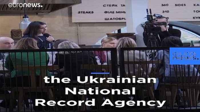 Ukrainian president Volodymyr Zelensky holds record-breaking  14-hour press conference