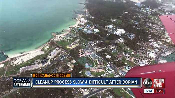 Local relief team, volunteers working to bring hope to long recovery process in Bahamas