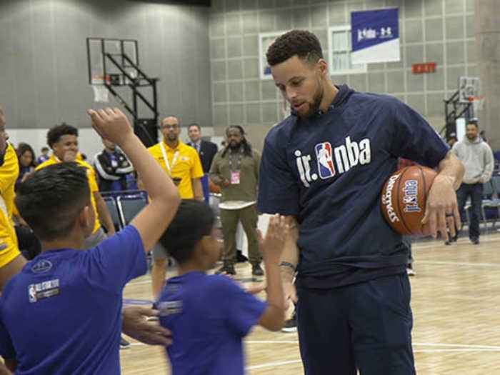 Stephen Curry Didn't Think He'd Be an NBA Player