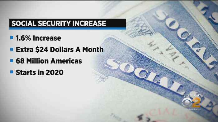 Social Security Recipients Getting Increases