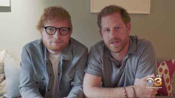 Ed Sheeran, Prince Harry Promote World Mental Health Day