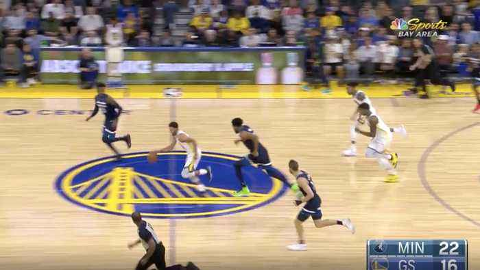 Curry Drops 40 in Warriors Win