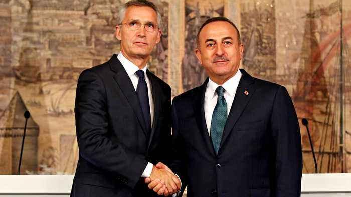 NATO leader, Turkey's Cavusoglu discuss military action in Syria