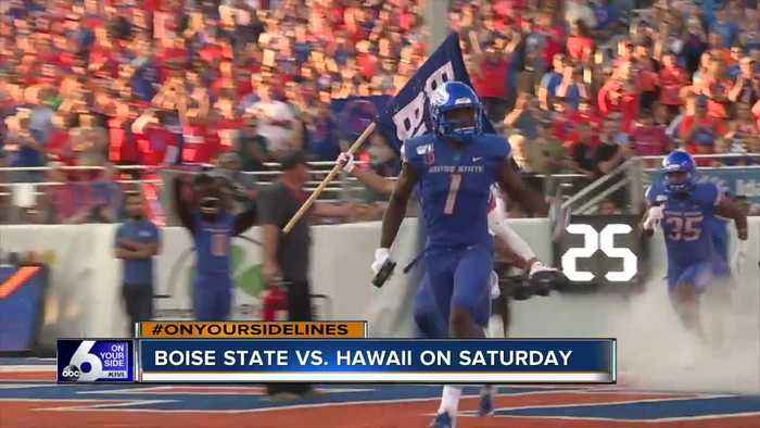 Boise State preparing for homecoming game Saturday
