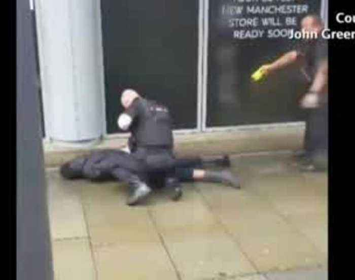 Knife attack at Manchester shopping mall