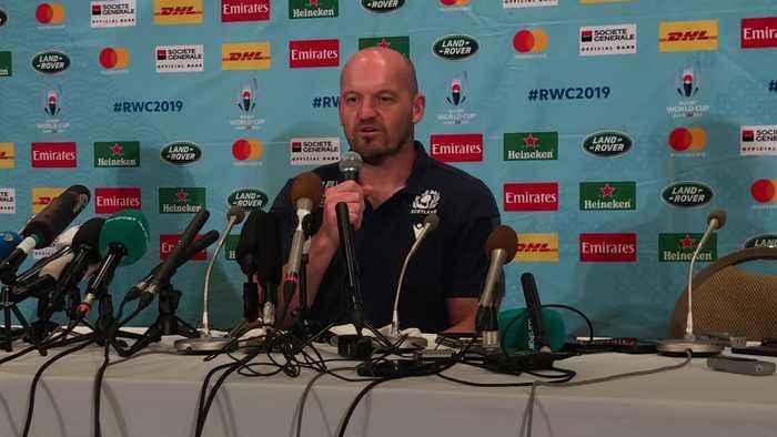 Gregor Townsend laughs off Japan coach comments