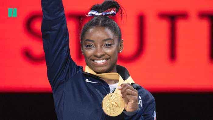 Simone Biles Is The Most Decorated Female Gymnast In The World