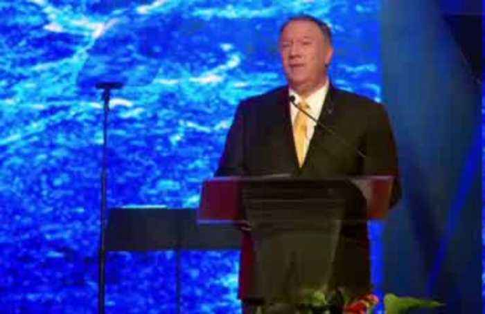 Pompeo compares China's Xinjiang region to Orwell's '1984'