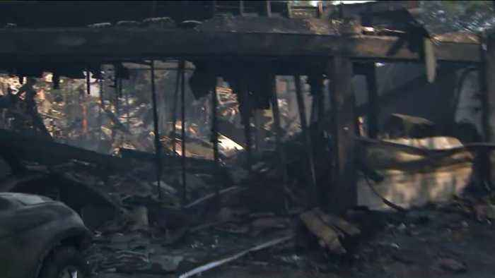 1 Death Reported in 4,700-Acre SoCal Fire; Nearly 13,000 Under Mandatory Evacuation Orders