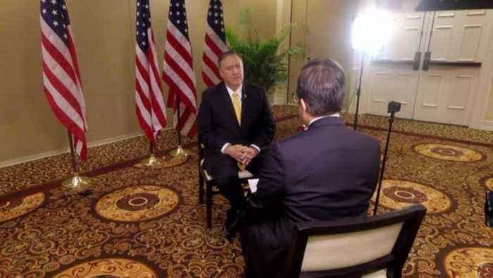 (Full Interview) Sec. of State Pompeo in Nashville on Biden, Ukraine phone call, China