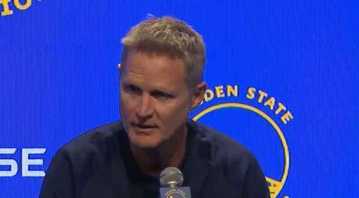 KERR ON TRUMP: Warriors coach Steve Kerr comments on President Trump's criticism over NBA-China Spat