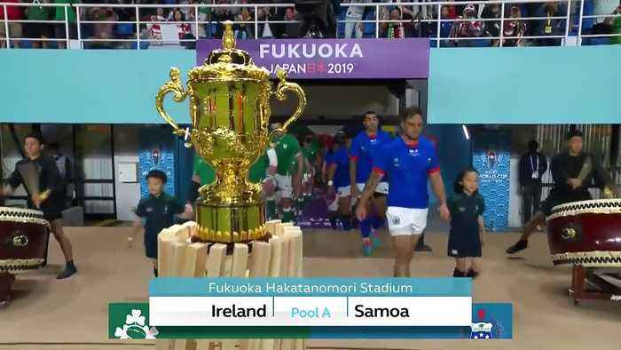 Highlights: Ireland v Samoa