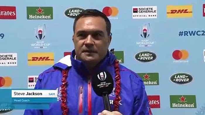 Samoa head coach Steve Jackson on RWC 2019