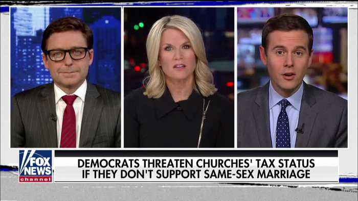 Beto O'Rourke says churches could lose tax exempt status over gay marriage