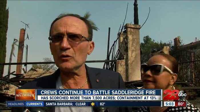 Man loses home to Saddleridge fire