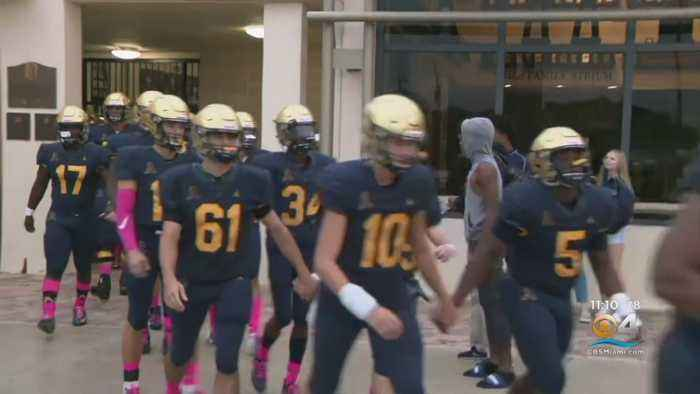 High School Football Team, Coaches Tackle Alleged Purse Thief