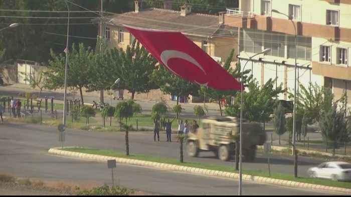 Turkey says Syria push 'won't stop' despite displacement concerns