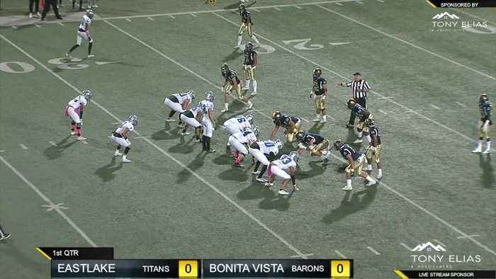 Eastlake High v. Bonita Vista football at Southwestern College