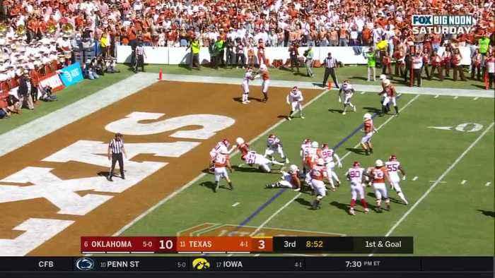 10/12/2019 Oklahoma vs Texas Football Highlights