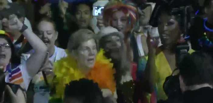 Many politicians at PRIDE parade