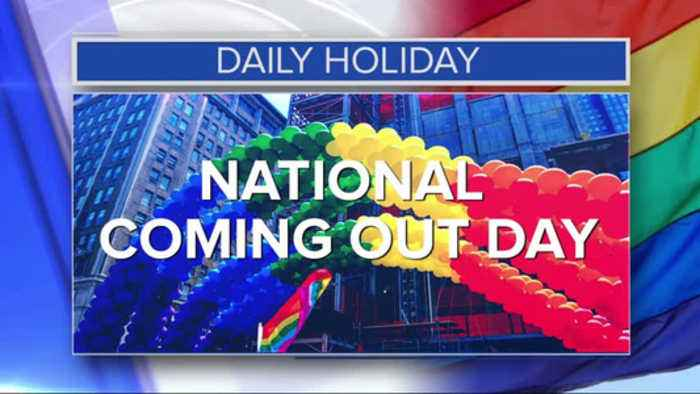 Daily Holiday - National coming out day