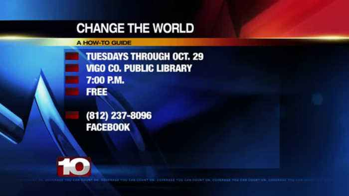 Change the World Tuesdays Through Oct 29th
