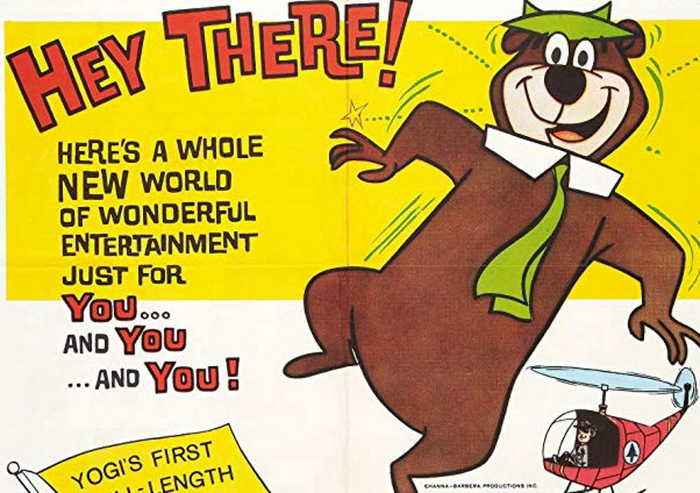 Hey There It's Yogi Bear Movie (1964)