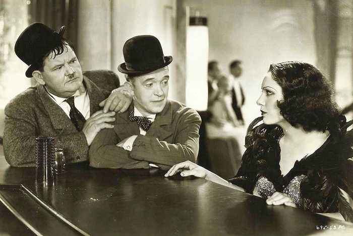 Hollywood Party Movie (1934) - Stan Laurel, Oliver Hardy