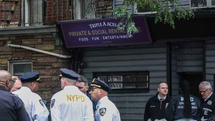 4 Dead And 3 Injured In Shooting At Brooklyn Club