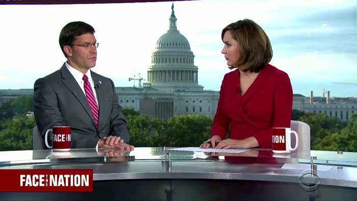 "Pentagon chief: ""Despite our opposition,"" Turkey advanced into Syria"
