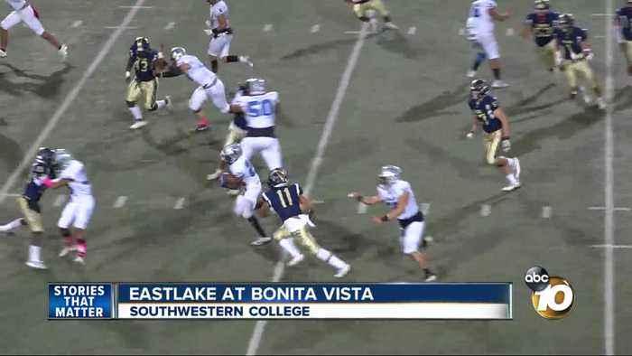 Eastake defeats Bonita Vista
