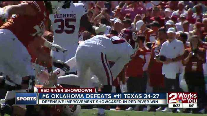 #6 Oklahoma Beats #11 Texas 34-27 in Red River Showdown