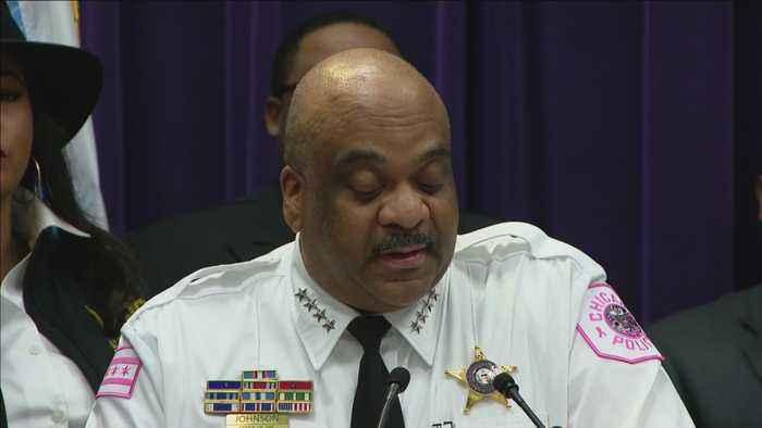 Supt. Eddie Johnson Addresses IG Report On Laquan McDonald Case