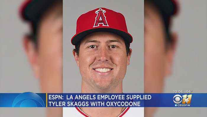Angels PR Employee Supplied Tyler Skaggs With Opioids, ESPN Reports