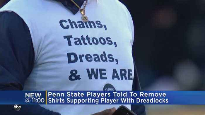 Penn State Football Players Told To Remove T-Shirts