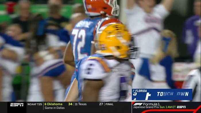 10/12/2019 Florida vs LSU Football Highlights