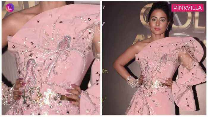 Hina Khan Surbhi Chandna Erica Fernandes Best and Worst Dressed at Gold Awards 2019