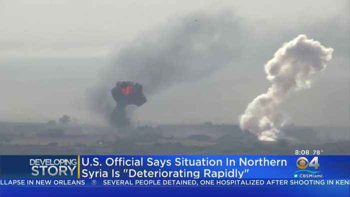 US Officials: Situation In Northern Syria 'Deteriorating Rapidly'