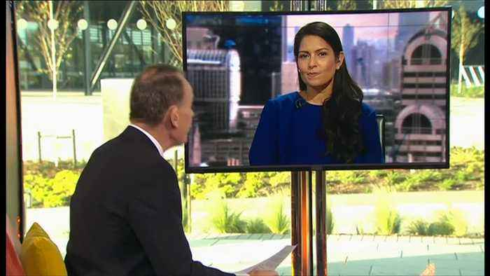 Andrew Marr Accuses Priti Patel Of 'Laughing' During TV Interview Over Brexit Fears