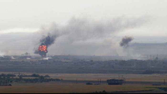 Up to 1,000 US troops to withdraw from northern Syria