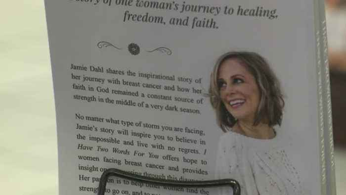 Local author and breast cancer survivor has signing for book