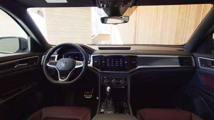 2020 Volkswagen Atlas Cross Sport Interior Design