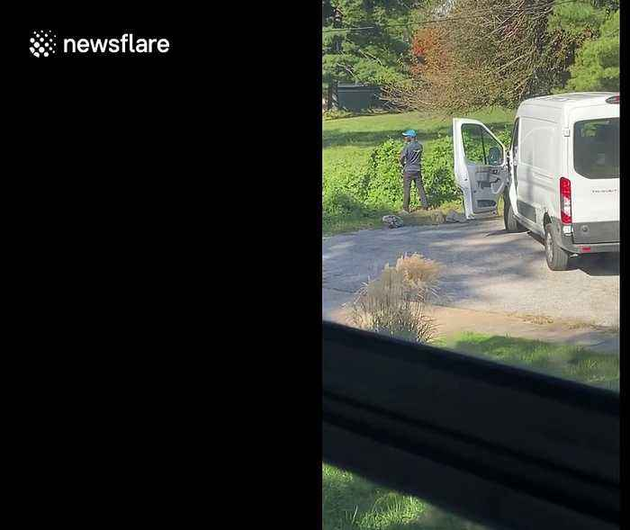 US Amazon delivery driver caught urinating 20 yards from elementary school